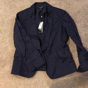 NWT! Talbots navy blazer
